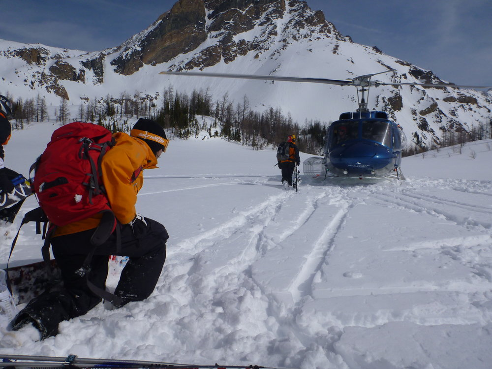 RK Heli, BC, Canada. Take me up to the snow! CHASEWINTER/SPENCER FRANCEY