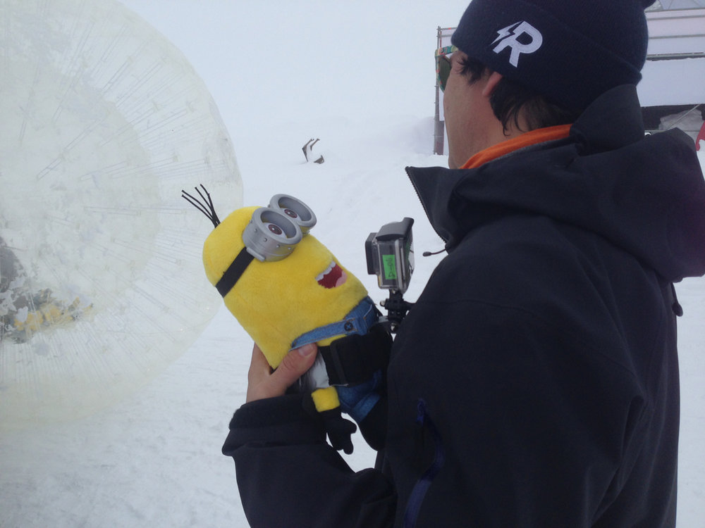 Minions love POV angles...  Thanks for the hat ROGUE films.