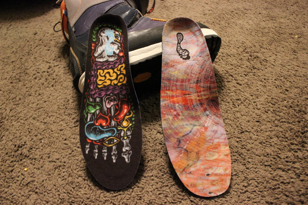 REMIND insoles will bring life back to your boots and feet.  The insoles that come with 90% of the snowboard boots out there are garbage. They have more than a few models to choose from for all foot types. Self forming and Bio-Mechanically engineered to bring your feet into proper alignment and give you top arch support.  Foot fatigue is a thing of the past and your back will thank you too. We added these into our snowboard boots and saw a difference instantly.  You can also add them to old winter boots like Sorels to put a spring in your step after riding. It's like putting whisky in a weak beer.   FIND THEM HERE
