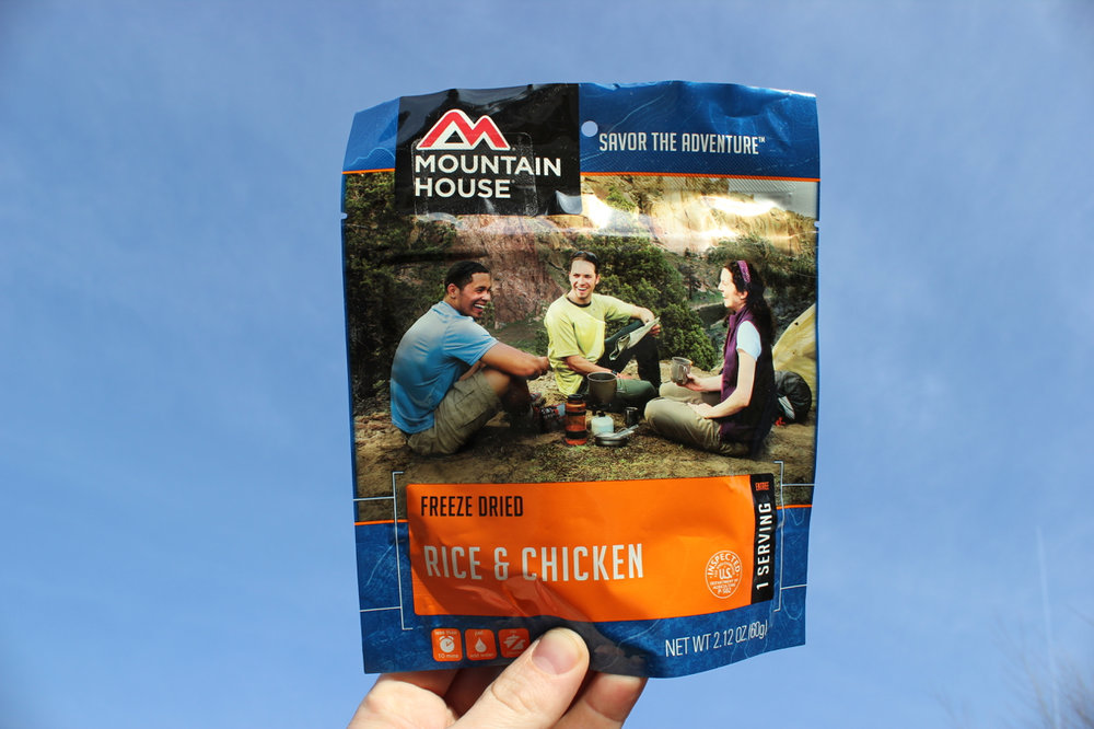 Eat dinner anywhere.  Just add hot water.  Right after the a day on the mountain in the parking lot?,  Why not? Easy no brainer, eat right out of the package product.  Awesome flavours and they have a crazy long shelf life too.  Long days in the field can be hard and energy bars just don't do the trick sometimes.  Another use for these is if you're planning an outdoor mission to countries where the diet might not be in your favour or even available.  FIND IT HERE
