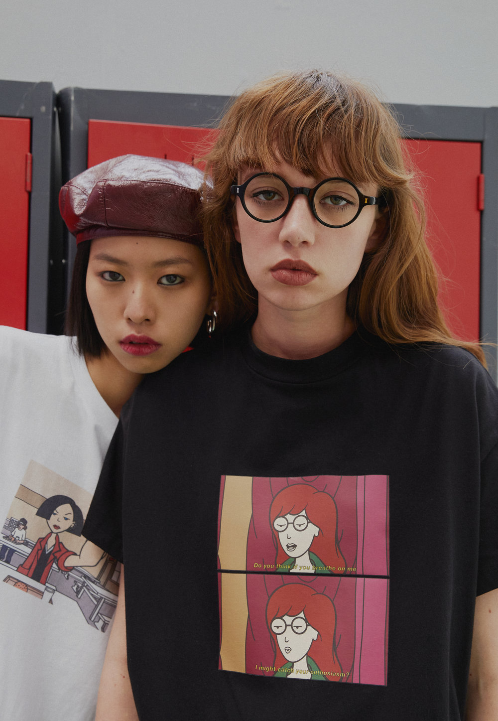 Lazy Oaf - Daria Collab - Show Art T-shirt - Postmodern Indigenous - An artistic lifestyle platform.jpg