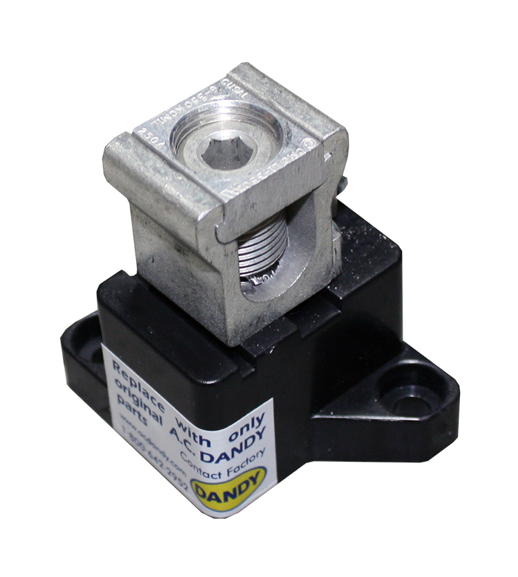 Utility CT/Metering Neutral Terminal - Model #D-CT-NSpecifically designed as a lay-in lug/neutral isolation block for connection of meter potential tickler wire required by utilities, where it is preferred not to cut the neutral cable.