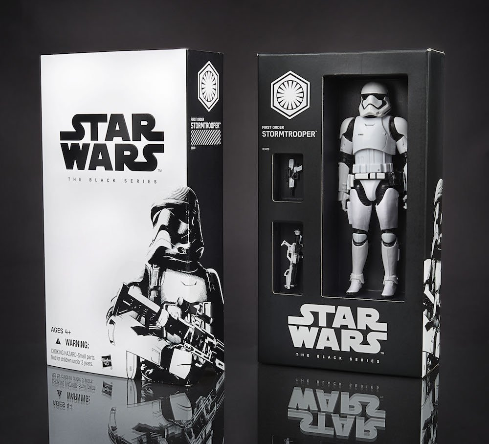 2015 SDCC Black Series Exclusive - First Order Stormtrooper