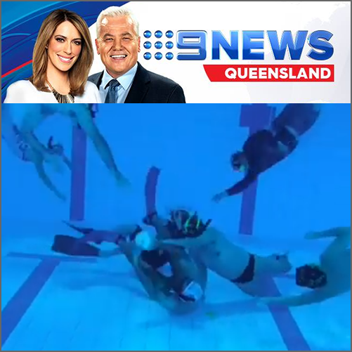 Part rugby, part swimming, part basketball and totally bizarre - Townsville  Nine News North Queensland, 13 December 2017