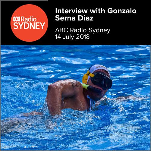 Interview with Gonzalo Serna Diaz (Sydney Whales)  ABC Radio Sydney, 14 July 2018