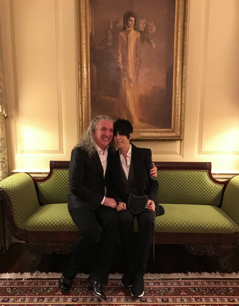At the White House with Diane Warren