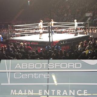 AJ Styles vs The Miz at WWE Road to WrestleMania tour