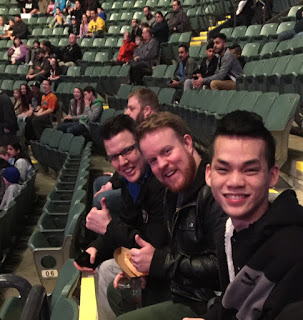 Sheldon Arsenault, Brendan Batchelor, and Liong