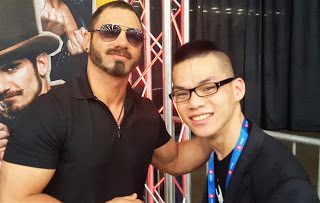 Austin Aries and Liong