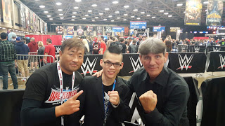 Funaki, Dickson Liong and Kevin Davis