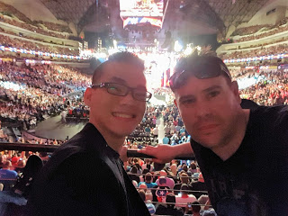 Liong and Schmidt at Monday Night Raw after WrestleMania 32