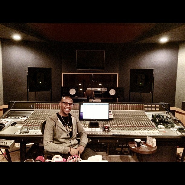 My boy Gregory @mistlabz with his uber-custom SSL. #studio #japan #tokyo #ssl #engineer #badman