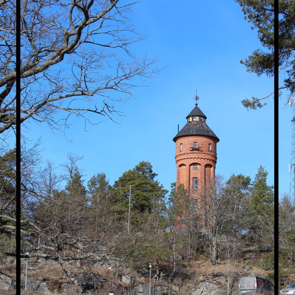 Vaxholms vattentorn.