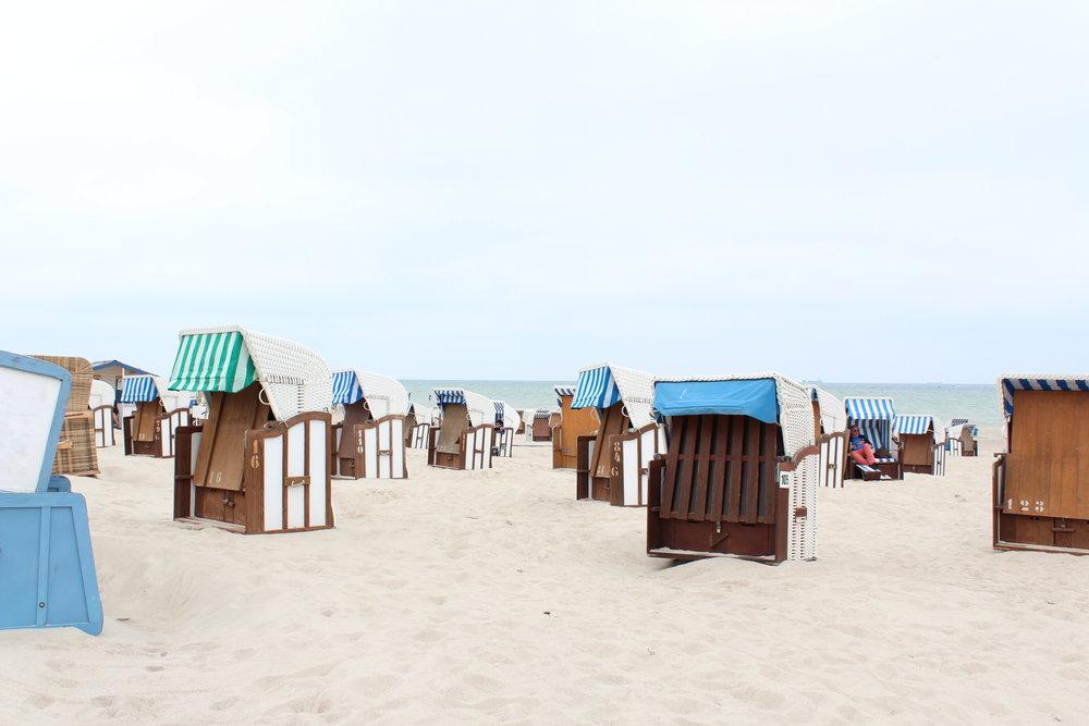 Stranden i Warnemünde