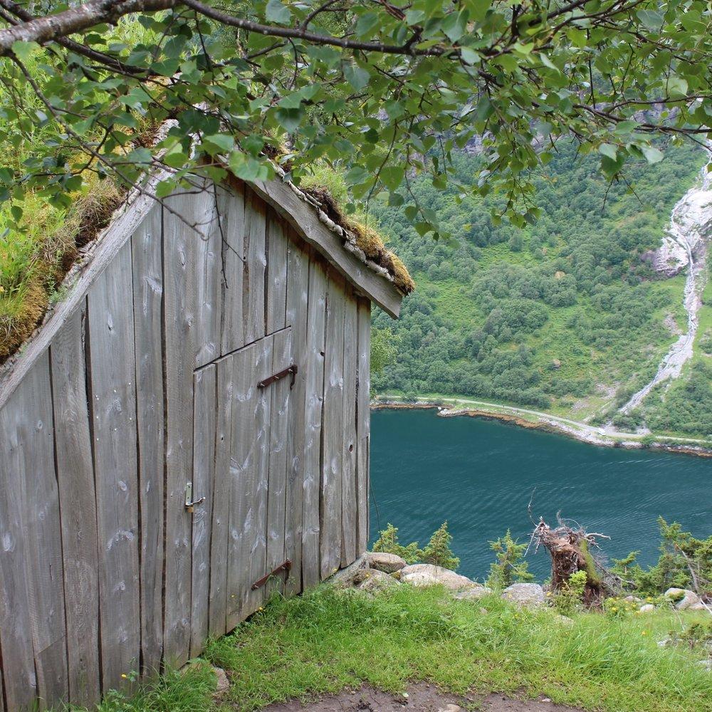 Utsikt mot Geirangerfjorden