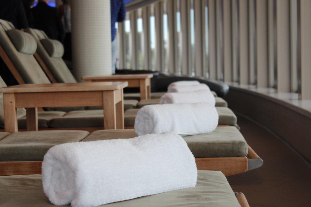 Spaavdelning med relax, Norwegian Getaway