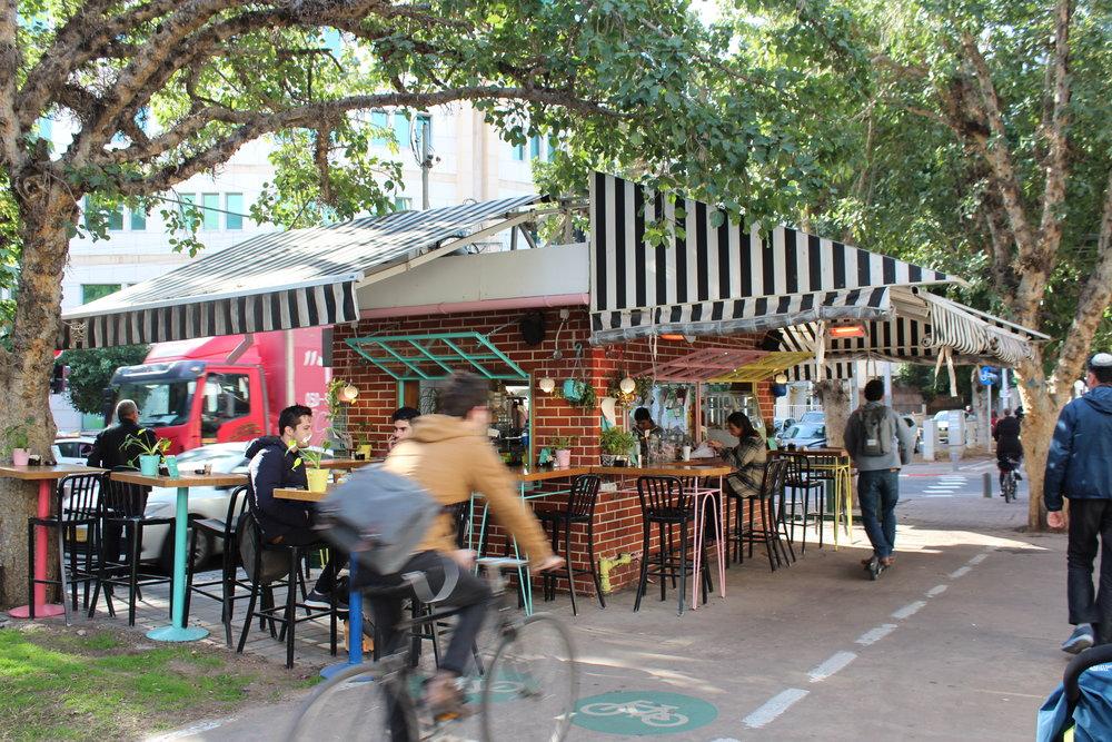 Rothchild Blvd. Tel Aviv.