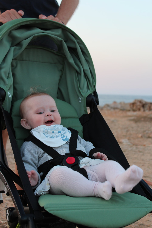 Superspännande med vagnpromenad på Menorca
