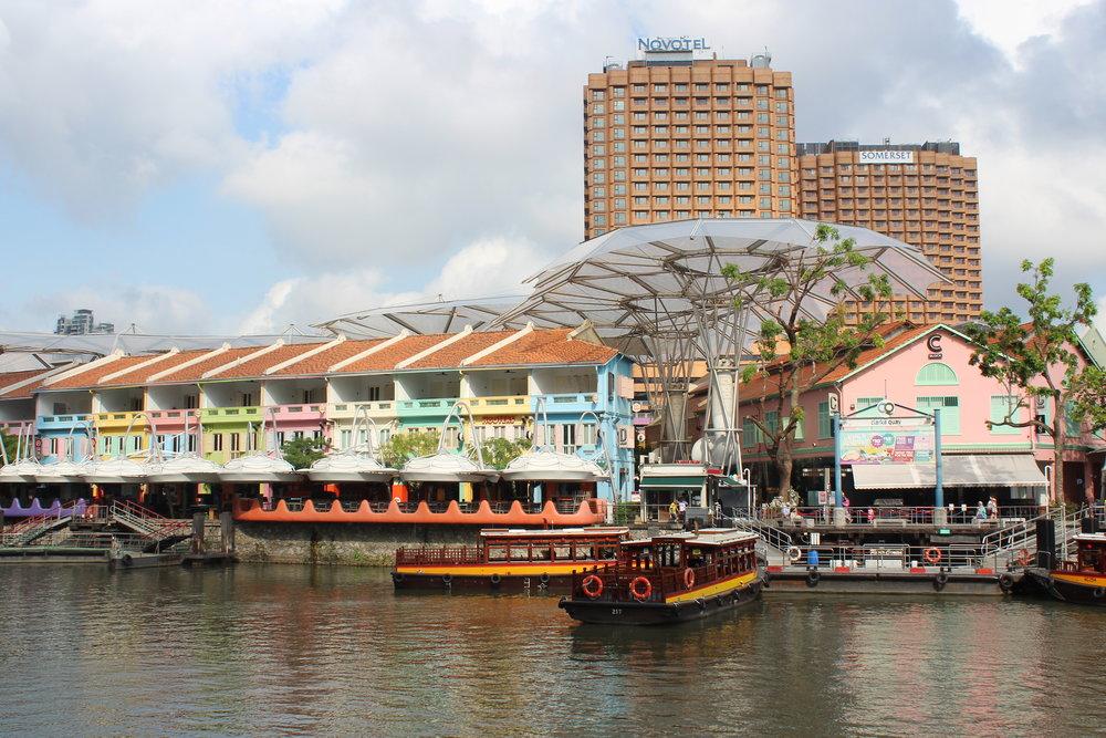 Vi flög till Singapore för våra Eurobonus-poäng!