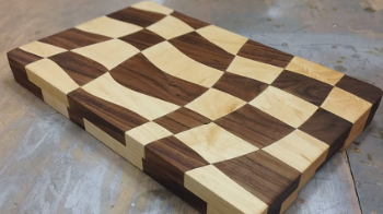 Drunken Cutting Board - By Peter Brown