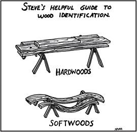 Hardwoods v Softwoods