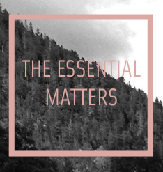 The Essential Matters - The essential matters. stimulating sustainable society. certified organic cosmetics.