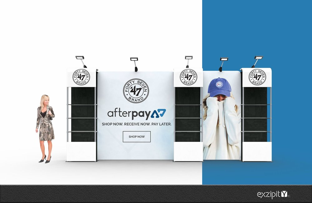 Corner Exhibition Stands Kit : Pop up store exhibition display kits u exzipit