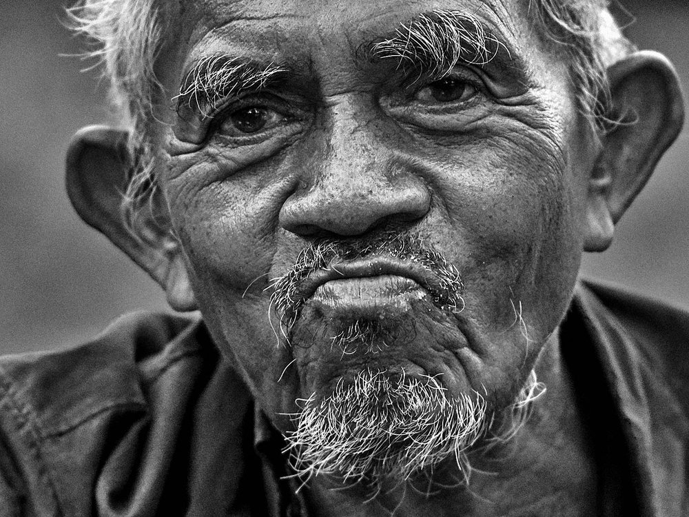 Old man, Bangkok