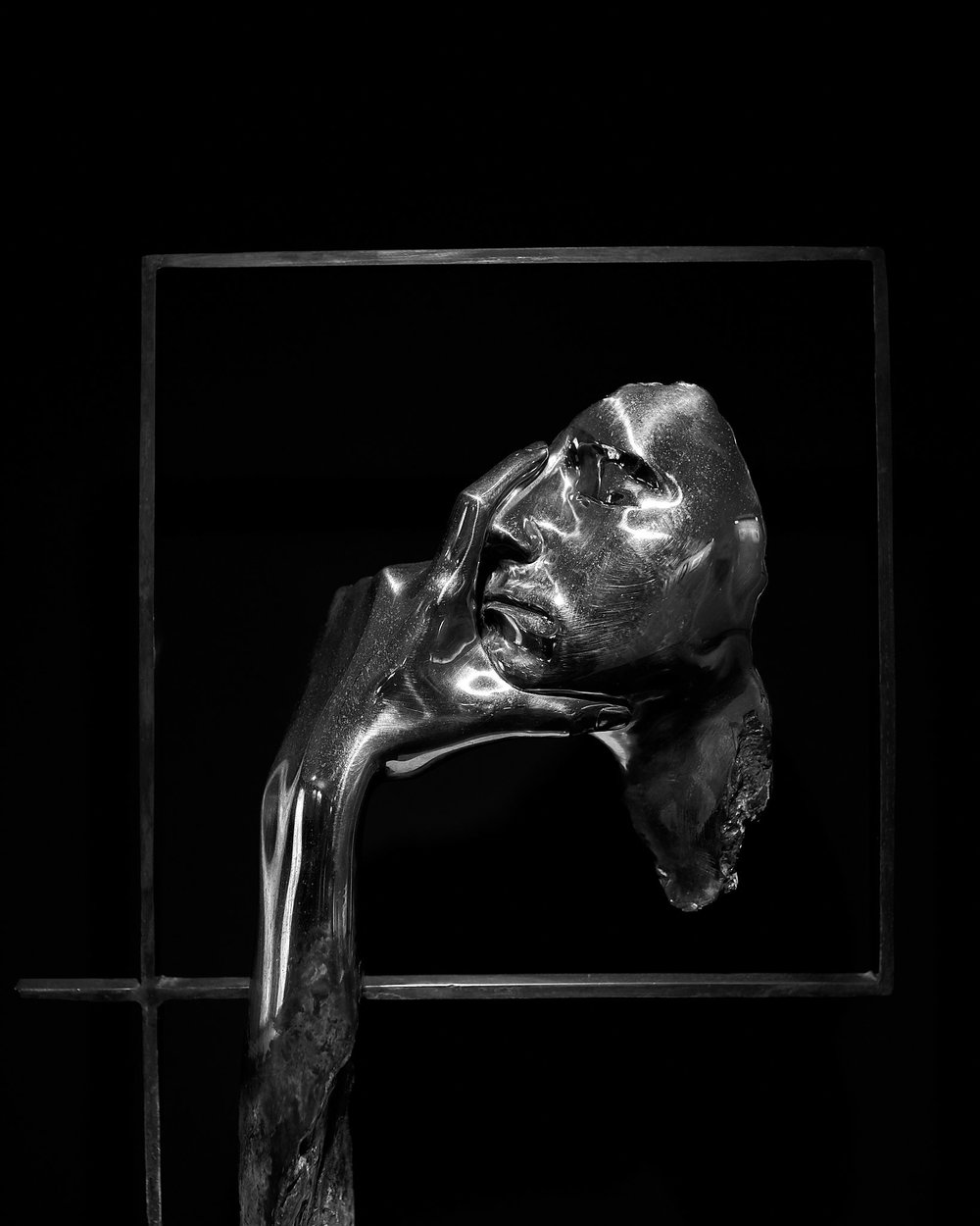 Contemplation, sculpture by Peter Parkanyi