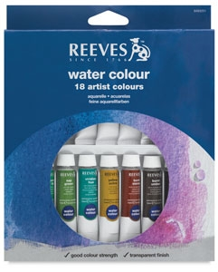 Watercolor paint set - this brand is a nice inexpensive starter set  if you don't already have paint . Any basic set will work. I like this number of colors to start. Please do not buy the cheapest set you can find! You will regret it.