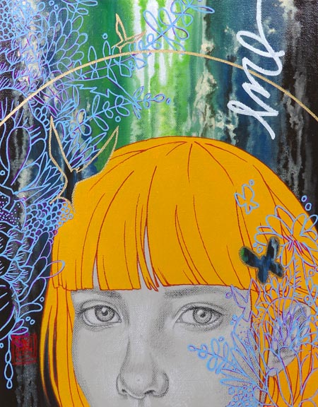 """Wonders"" mixed media ©Sara Drescher"