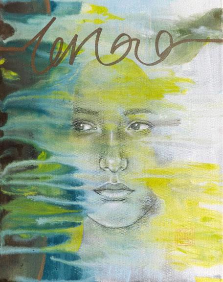 """""""Joined"""" mixed media 14x11 ©Sara Drescher"""
