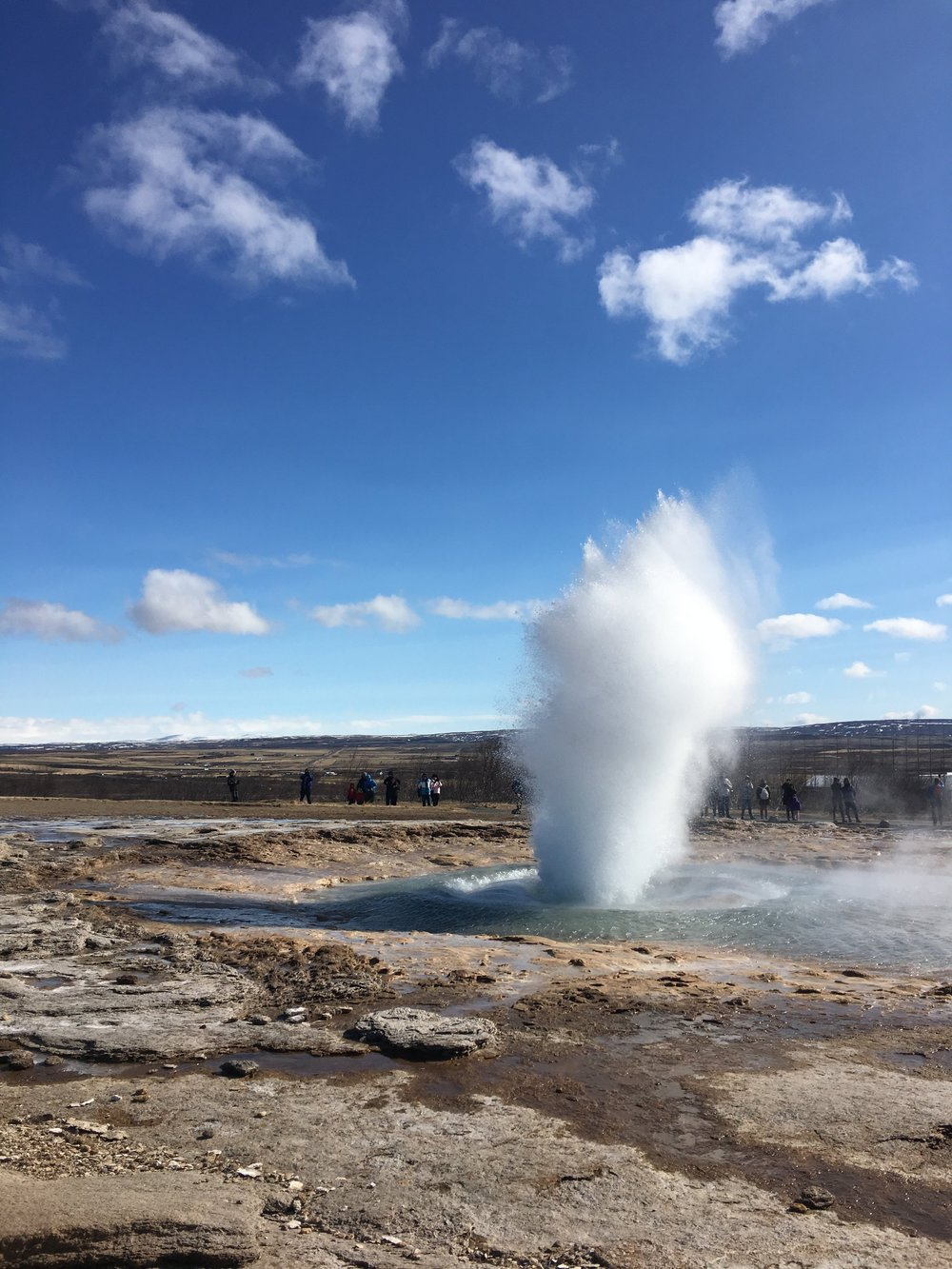 Geysir in its full glory