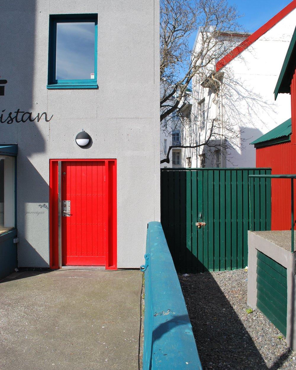 Colourful Reykjavik