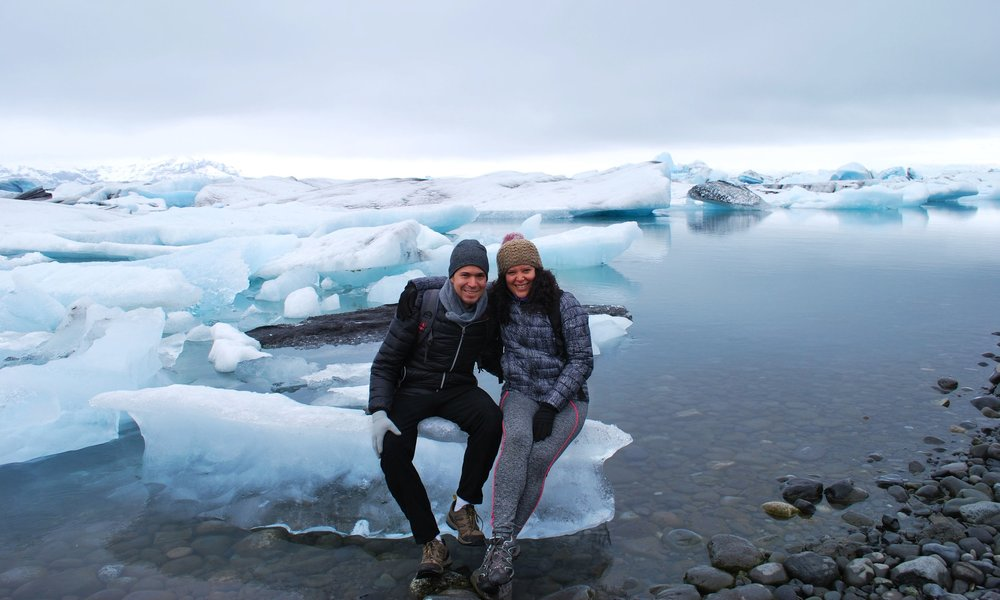A day at Jokulsaron ice lagoon