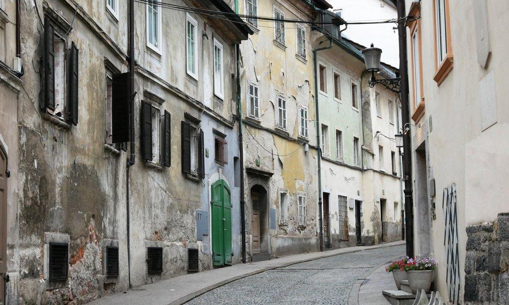 Ljubljana's Sidestreets