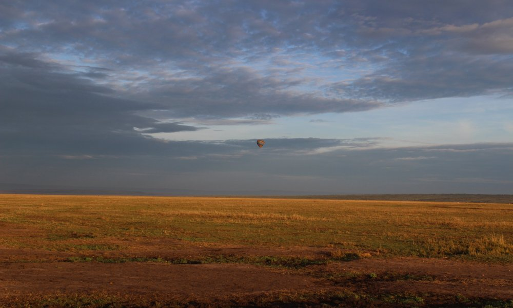 Sunrise over the Masai Mara