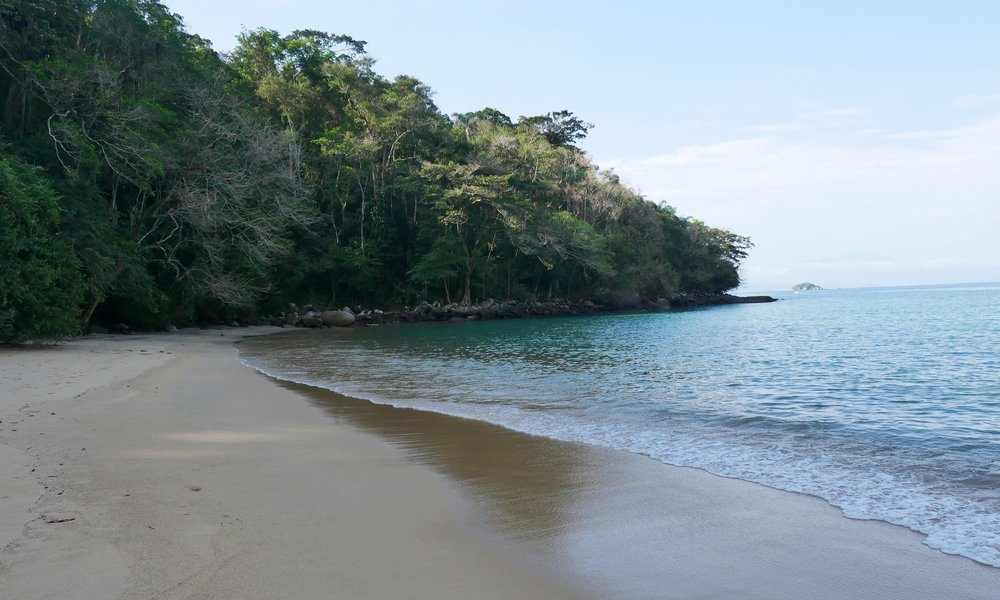 The beautiful beaches of Paraty