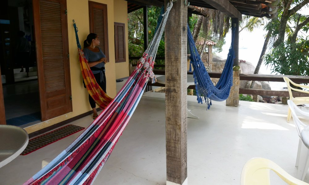 Hammocks for napping, I say
