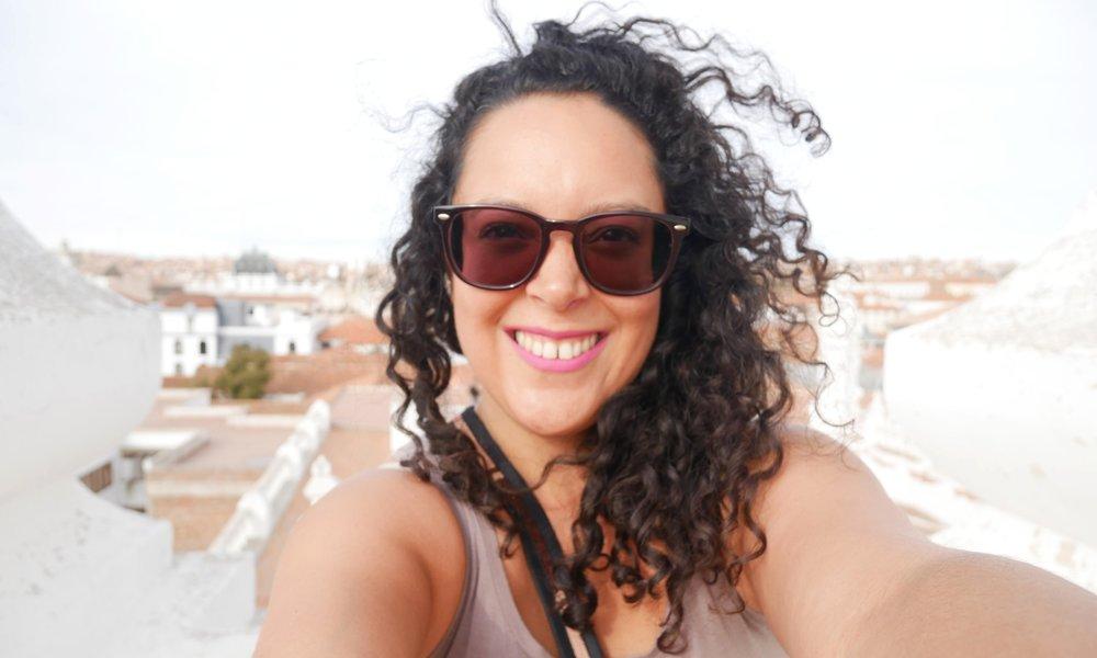 Selfie at sunset, Convento de San Felipe Neri