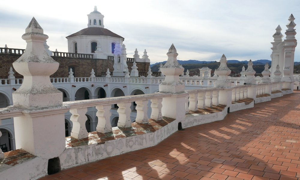 View from the top of Convento San Felipe Neri