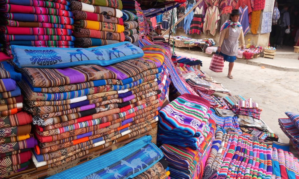 Textiles, Tarabuco Market