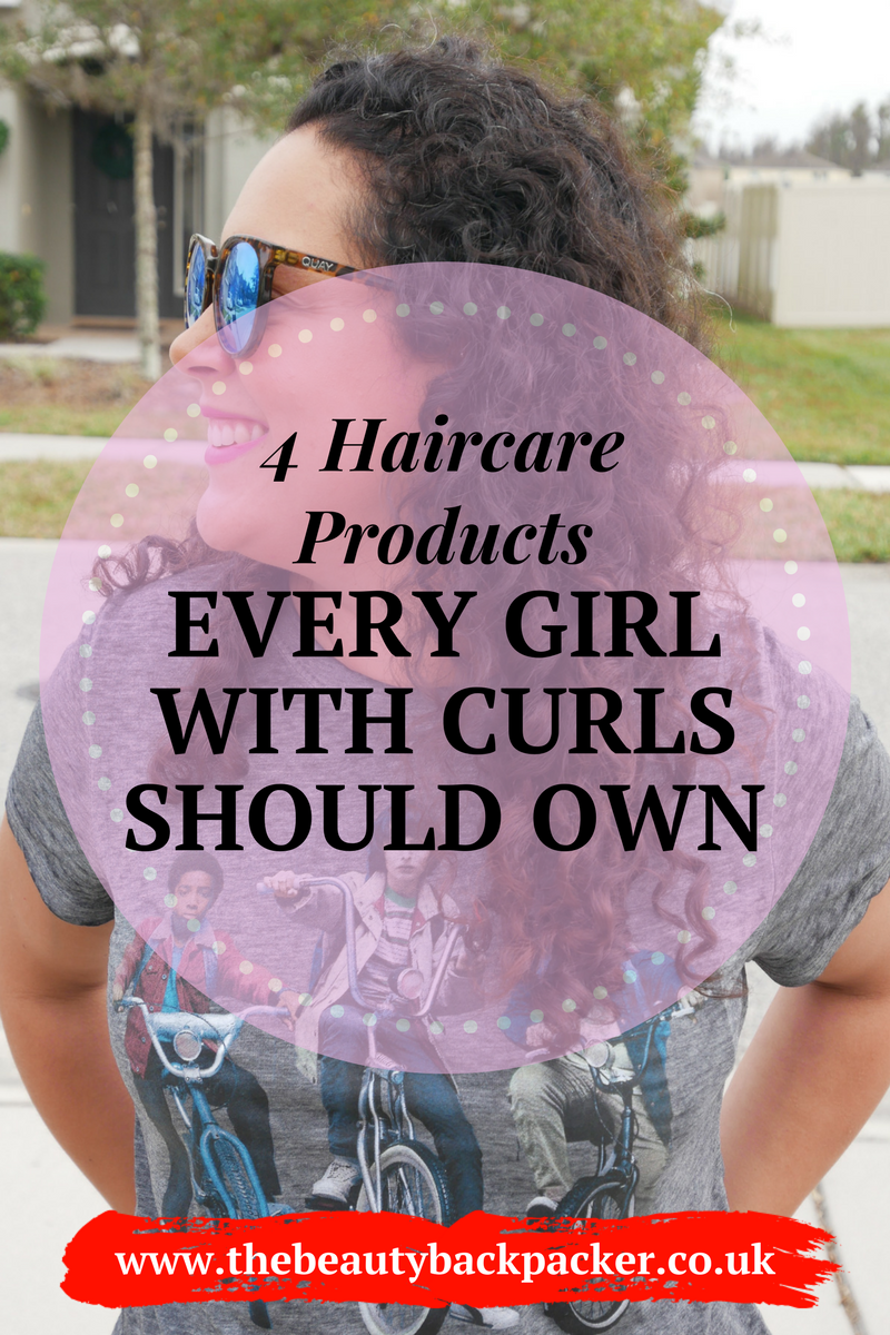 4 products every girl with curly hair should own
