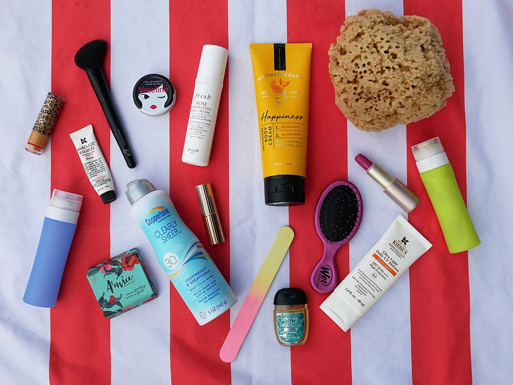 ultimate travel beauty essentials for backpacking
