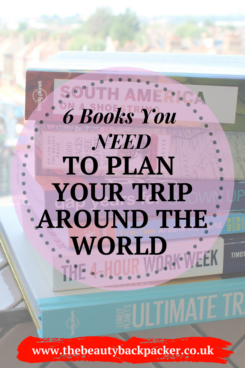 6 Books You Need to Plan Your Trip Around the World