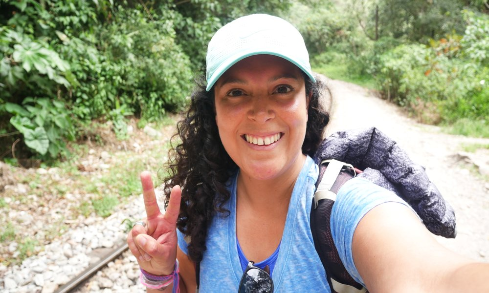 Getting all hippie on the Machu Picchu trail