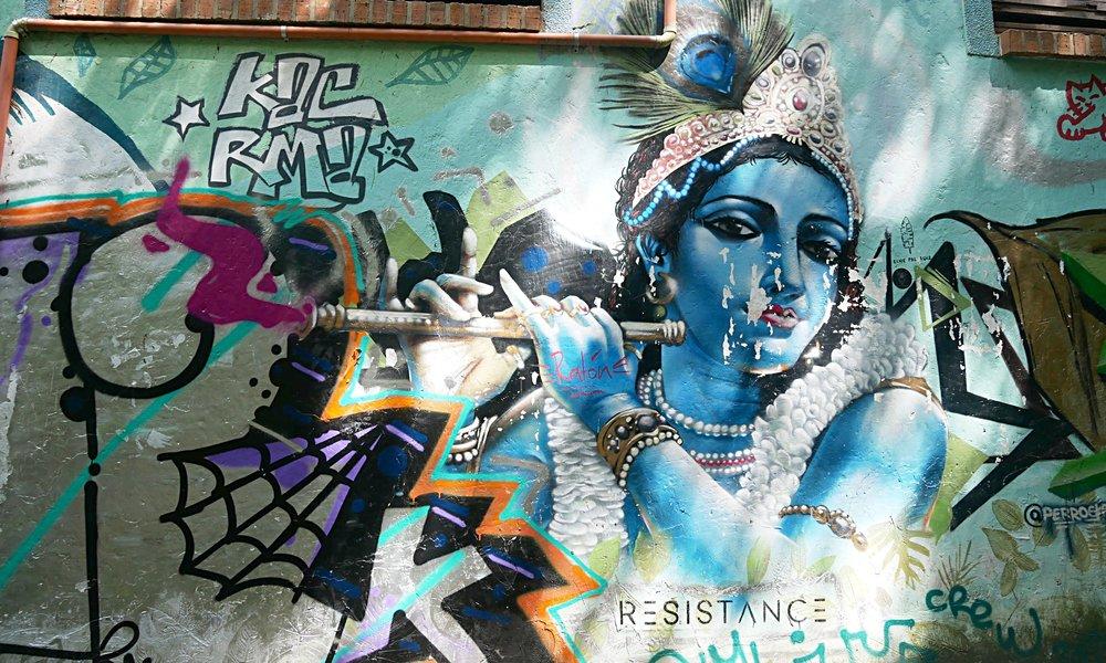 Street Art in El Poblado, Medellin