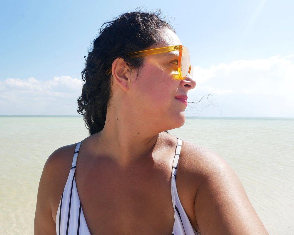 Feelin' like a beach babe