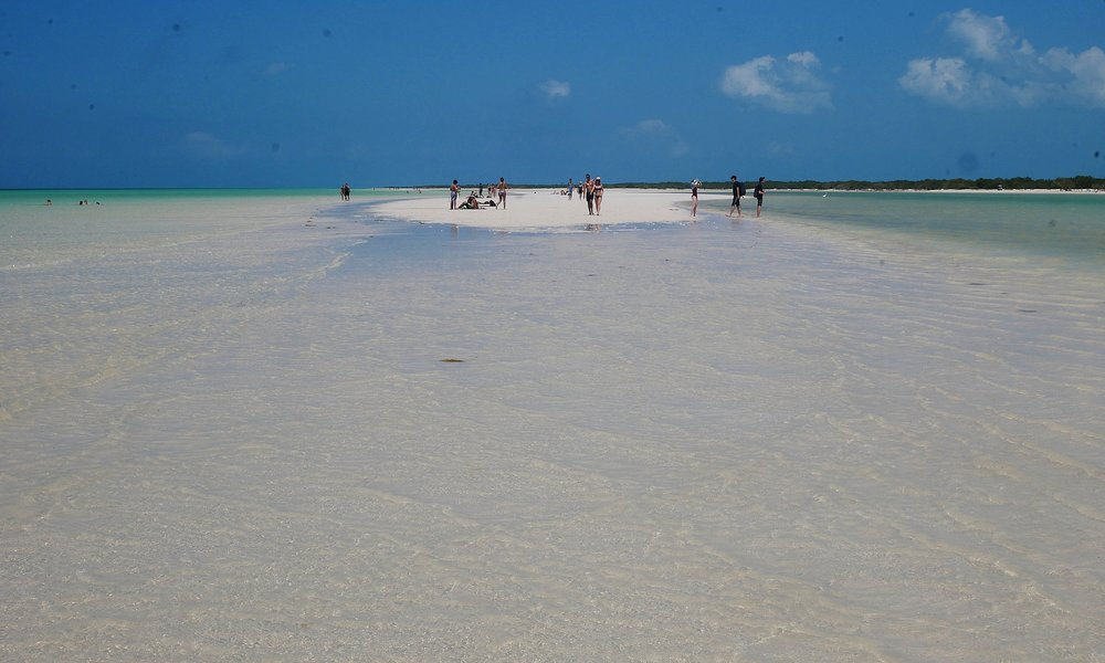 The stunning sandbar to Punta Mosquitos