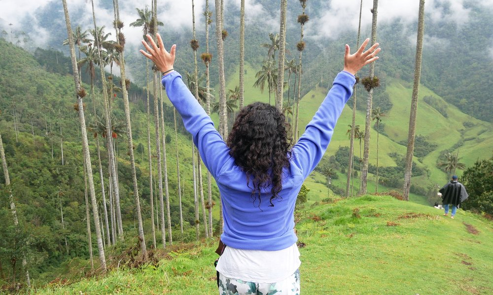 The most beautiful view in the Cocora Valley, in my humble opinion